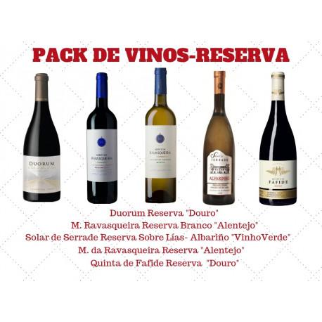 PACK DE VINOS - RESERVA