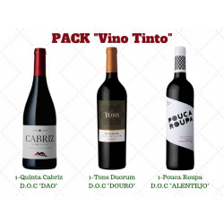 "PACK ""VINO TINTO"""