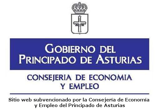Sitio web subvencionado por la Consejería de Economía y Empleo del Principado de Asturias